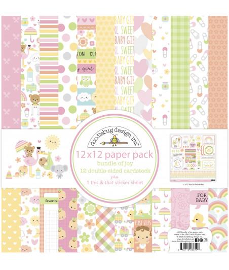DOODLEBUG - Bundle of Joy - 30x30 Inch Paper Pad