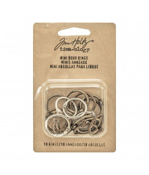 Tim Holtz Idea-ology - Mini book rings