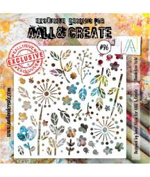 AALL & CREATE - Stencil 96