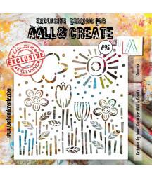 AALL & CREATE - Stencil 95