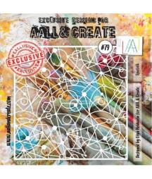 AALL & CREATE - Stencil 79