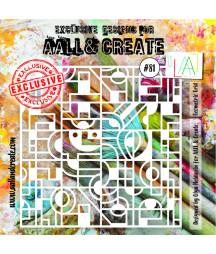 AALL & CREATE - Stencil 81