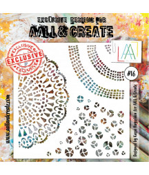 AALL & CREATE - Stencil 16