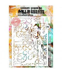 AALL & CREATE - Stencil 47 A4