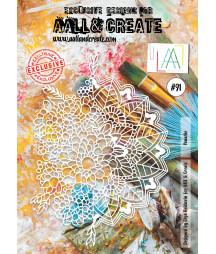 AALL & CREATE - Stencil 91 A4