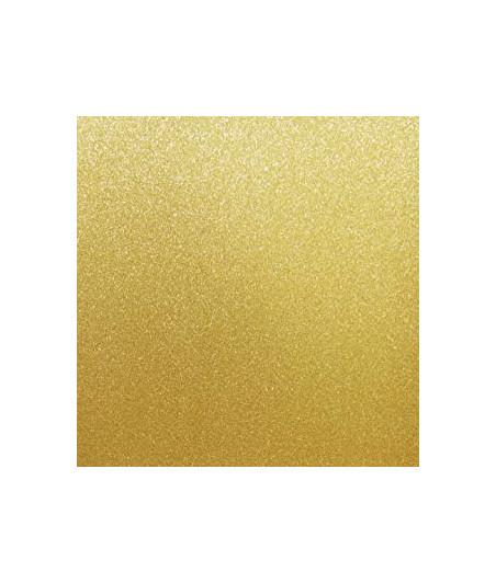 DOODLEBUG DESIGN - Sugar Coated Cardstock- Gold 12X12