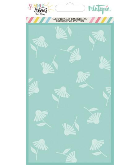 MINTOPIA - Carpeta de embossing Margaritas Summer Stories