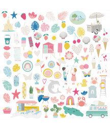 MINTOPIA - Die Cuts Ilustraciones Summer Stories