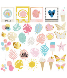 MINTOPIA - Die Cuts de Vellum Summer Stories