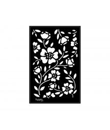 YUPPLA - BLACK Stencil - Flora