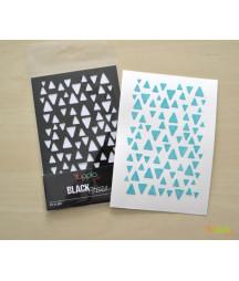 YUPPLA - BLACK Stencil - Su e giù