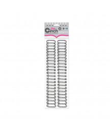 """WE R MEMORY - Cinch wire binders black 5/8"""" 1.6cm"""