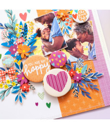 WE R  MEMORY KEEPERS - Button press bundle