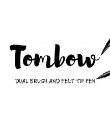 TOMBOW - ABT 493 Black Dual Brush Pen