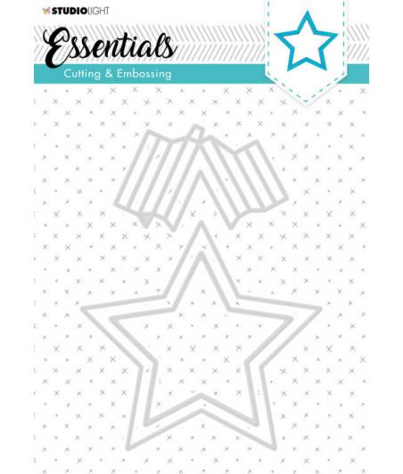 STUDIO LIGHT - Die Cut Stencil Essentials nr.303