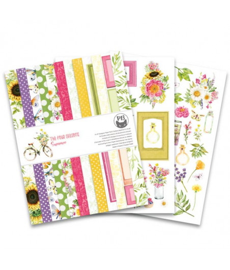 PIATEK13 - Paper pad The Four Seasons - Summer 6x8