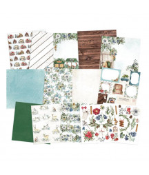 PIATEK - Paper pad The Four Seasons - Winter 6x6 Pad Collection Kit