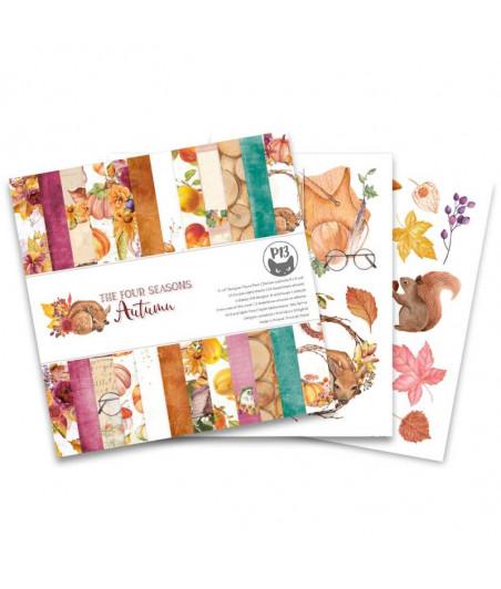 PIATEK - Paper pad The Four Seasons - Autumn 6x6 Pad Collection Kit