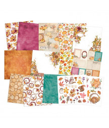 PIATEK - Paper pad The Four Seasons - Autumn 6x6 Pad Collection Kit