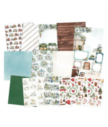 PIATEK - Paper pad The Four Seasons - Winter - 12x12  Pad Collection Kit