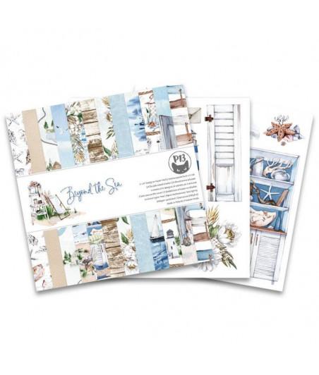PIATEK - Paper pad Beyond the Sea - 12x12  Pad Collection Kit