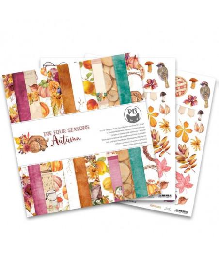 PIATEK - Paper pad The Four Seasons - Autumn - 12x12  Pad Collection Kit