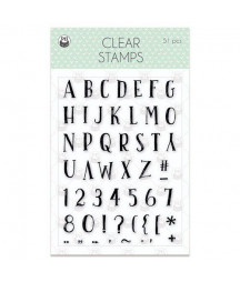 PIATEK - Clear stamp set We...