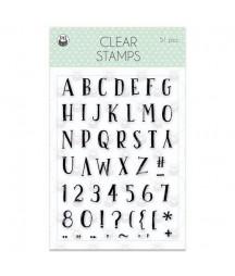 PIATEK - Clear stamp set We...