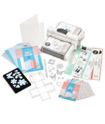 SIZZIX - Big shot plus A4 Essentials Kit for Shape-Cutting and Embossing