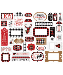 ECHO PARK - Lumberjack Christmas - Frame & Tags