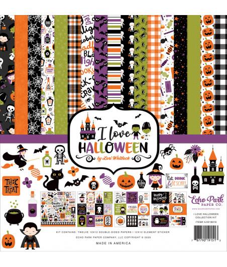 ECHO PARK - I Love Halloween - 12x12  Pad Collection Kit