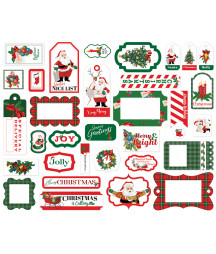 CARTA BELLA - Dear Santa - Frame & Tags