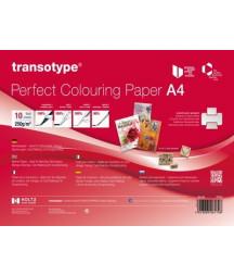 PERFECT COLOURING PAPER -  10 fogli per colorazione