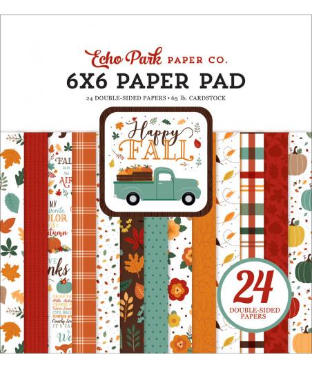 ECHO PARK - Happy Fall 6x6 Inch Paper Pad