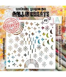 AALL & CREATE - Stencil 97