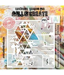 AALL & CREATE - Stencil 105