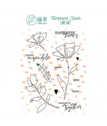 HA PI - Clear stamps Jardin...