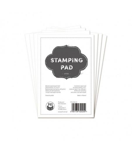 """PIATEK - Stamping Pad White 6x4"""""""