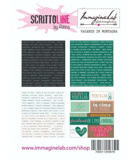 SCRITTOLINE by Ritins - Vacanze in montagna