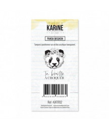 KARINE - Clear Stamp Panda...