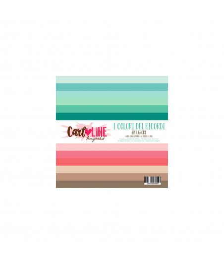 CartoLINE - I colori dei ricordi by LaRoRi 6''x6''