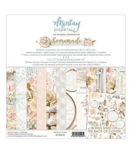 MINTAY BY KAROLA - Homemade - 12x12  Pad Collection Kit