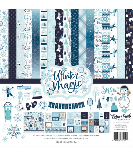 ECHO PARK - Winter Magic - 12x12  Pad Collection Kit