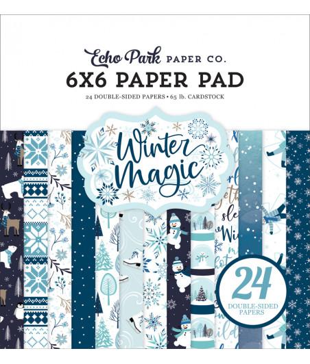 ECHO PARK - Winter Magic 6x6 Inch Paper Pad