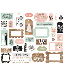 ECHO PARK - Our Wedding - Frame & Tags