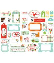 CARTA BELLA - Farm To Table - Frame & Tags