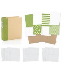 SIMPLE STORIES - Album 6x8 - Snap! - Green