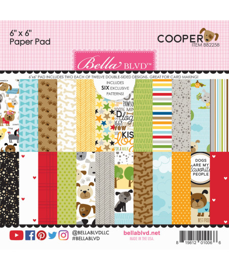 BELLA BLVD - Cooper 6x6 Inch Paper Pad
