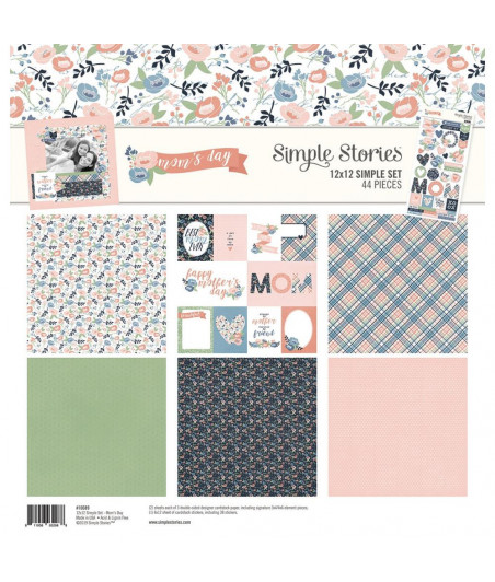 SIMPLE STORIES - Mom's Day -  Collection Kit 12x12