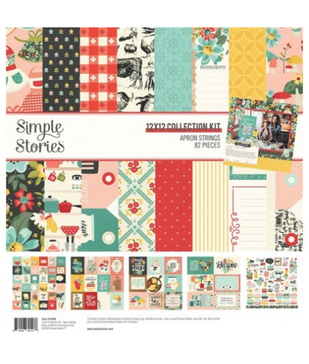 """SIMPLE STORIES - Apron Strings - Collection Kit 12""""x12"""""""